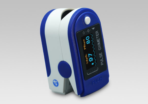 Finger Tip Pulse Oximeter, meter for heart rate combined blood oxygen levels sensor
